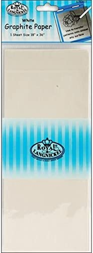 Grey Royal /& Langnickel 18 x 36 inch Graphite Paper
