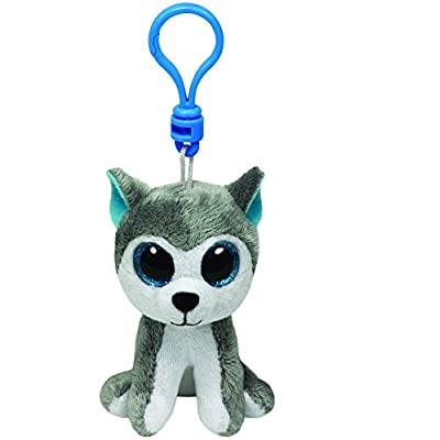 Ty Beanie Boos - Slush-Clip the Husky: Toys & Games