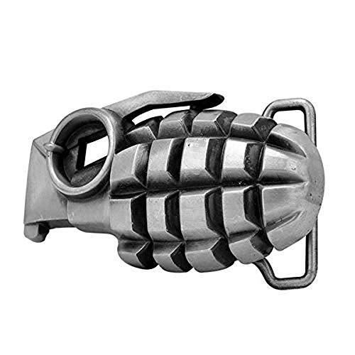 (3D Grenade Belt Buckle)