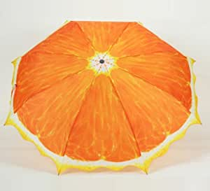 Orange Folding Umbrella