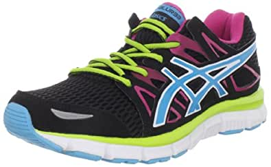 ASICS Women's GEL-Blur33 2.0 Running Shoe,Black/Electric Blue/Hot Pink,12 M US