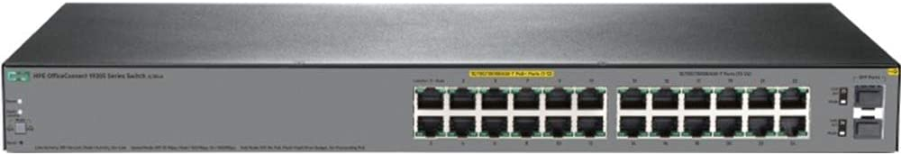 HP JL384A 1920S 24G 2SFP Ppoe+ 185W Switch