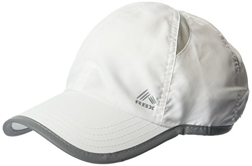 RBX Women's Printed Panel Baseball Cap, Adjustable, White, One Size