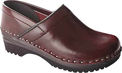 Troentorp Women's Båstad Van Gogh Leather Clog