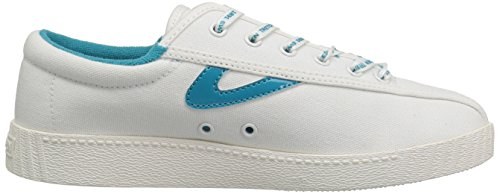 Vintage Women's Tretorn Teal Neon Sneaker White Nyliteplus wAqvC