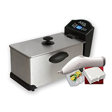 AquaChef Sous Vide Smart Cooker with Seal 'N Fresh Vacuum Sealer