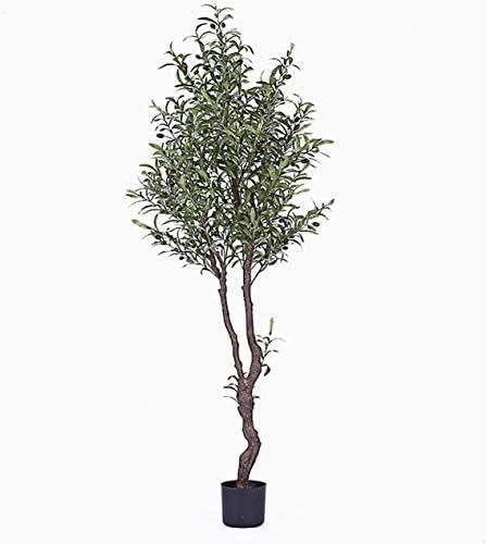 أشجار صناعية نباتات مقلدة لمحاكاة شجرة الزيتون بنمط نوردي نباتات داخلية لغرفة المعيشة نباتات خضراء وزخرفة منزلية 1 8 مللي أمبير الساعة Amazon Ae