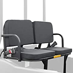 """The original rumble seat frame is constructed of 1"""", heavy-duty aircraft aluminum and finished in a deep powder-coat of black enamel. It features super-soft, cushioned pads covered with 600 denier PVC coated polyester. The total weight capaci..."""