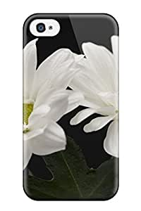 XxRuFvt719JThhi White Flowers Fashion Tpu 4/4s Case Cover For Iphone by icecream design