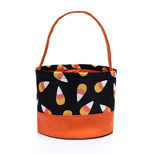 Halloween Trick or Treat Bags Candy Buckets Baskets for Kids (Ice-Cream)]()