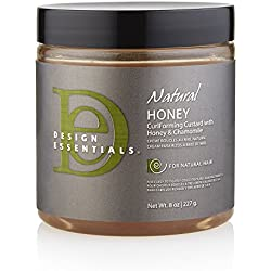 Design Essentials Natural Honey Curl Forming Custard, 8 oz