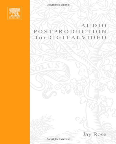 Audio Postproduction for Digital Video-cover