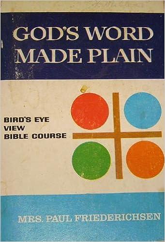 Gods Word Made Plain
