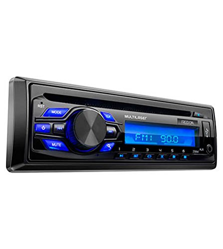 Som Automotivo MP3 Player Freedom Radio CD USB, Multilaser, P3239, Preto