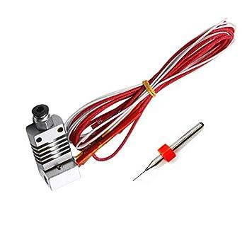 INBOXX® Extrusor montado MK8 Hotend Kit para impresora 3D CR ...