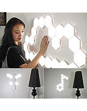 Lixada Wall LED Light Ambient lighting Touch Control LED Lighting System Room Lamp Home Decor EU Plug
