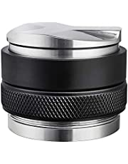 58mm Coffee Distributor & Tamper, MATOW Dual Head Coffee Leveler Fits for Portafilter, Increased Adjustable Depth- Professional Espresso Hand Tampers