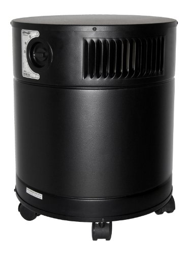 AllerAir Airmedic Pro 5 HD Vocarb UV Air Purifiers, White, Black, Sandstone, (Vocarb Uv Air Purifier)