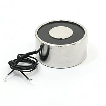 Amazon.com : 24V 0.28A 25Kg eléctrico de imán de elevación 40x20mm ...