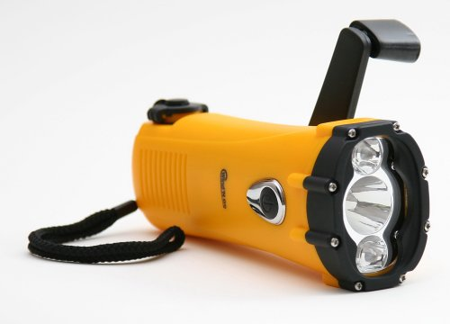 (Wind N Go Ultra Bright 1-Watt Led Waterproof Flashlight (Yellow/Black))
