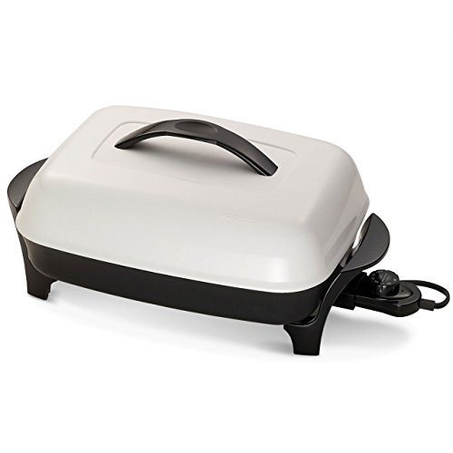 Maxiaids Electric Fry Pan with Tactile Dial