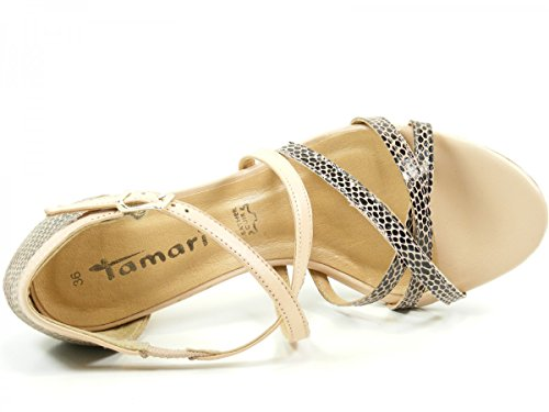 Tamaris 28339 - Sandalias Mujer Beige