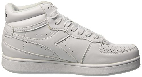 Adulto 20006 Unisex Altas High Zapatillas Blanco Diadora Bianco Playground CXqRIWwxz