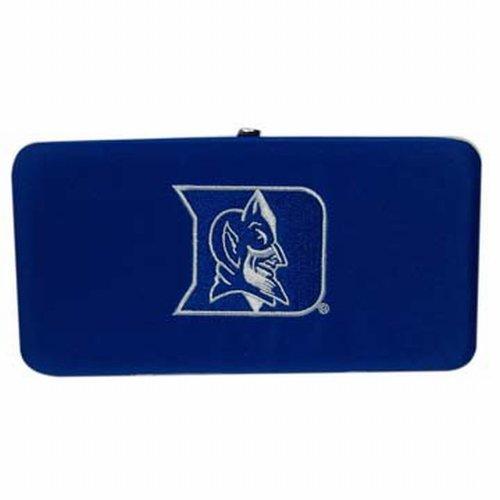 NCAA Duke Blue Devils Ladies Microfiber Clutch Wallet