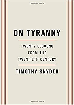 Image result for ON TYRANNY