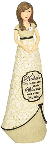 Pavilion Gift Company Modeles 88122 Mother Expecting Figurine, A Mother's Joy, 7-1/2-Inch