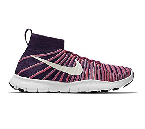 Scarpe da corsa Nike Force Flyknit Free da uomo (11,5 D (M) US, Grand Purple / White)