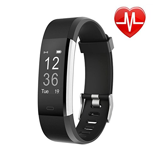 Fitness Tracker HR, Letsfit Activity Tracker Watch with Heart Rate Monitor, IP67 Waterproof Smart Bracelet with Calorie Counter Pedometer Watch for Android and iOS – DiZiSports Store