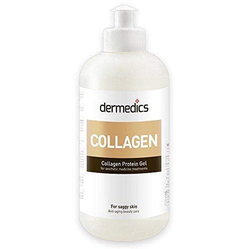 Dermedics COLLAGEN innovatives Kontaktgel / Ultraschallgel 250ml, mit Kollagenproteinen und Kollagenextrakt mit Anti-Aging Wirkung