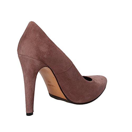 Gamuza De Albano Mujer Rosa Zapatos Salón Cw6qI5Txq