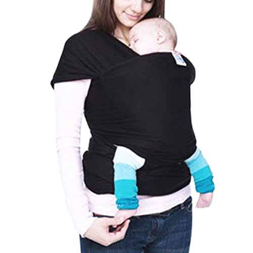 LAPAYA Baby Carrier 4-in-1 Baby Wrap and Infant Sling Comfor