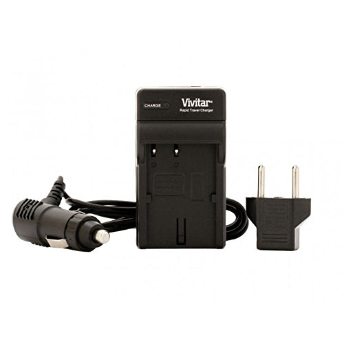 Vivitar 1 Hour Rapid Charger for Sony NP-FV100 Battery