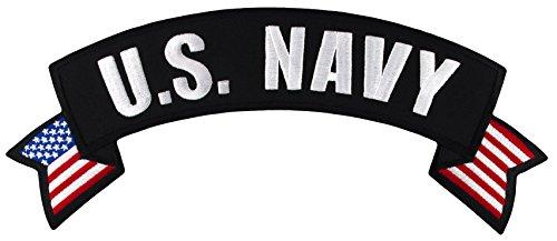 U.S. Navy Rocker Large Embroidered Jacket Patch 11