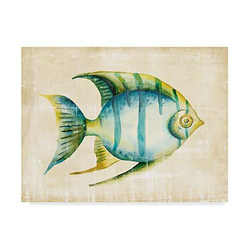 Trademark Fine Art Aquarium Fish I by Chariklia Zarris, 18x24