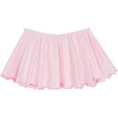 Toddler and Girls Flutter Ballet Dance Skirt Light