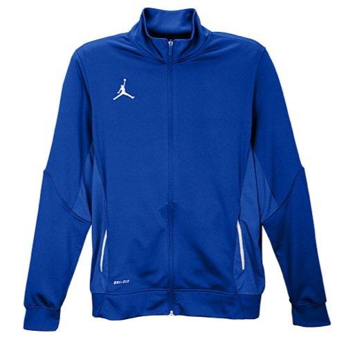 NIKE Men's Team Jordan Flight Jacket (X-Large, Royal/White/Anthracite) - Jordan Flight Jacket