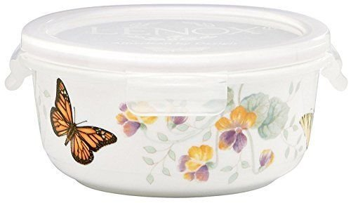 Lenox Butterfly Meadow Serve and Store Container Bowl - Stores Lenox