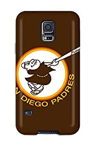 Flexible Tpu Back Case Cover For Galaxy S5 - San Diego Padres
