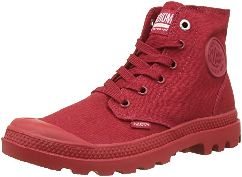 Rot Palladium Chrome K79 Mono Chili Hohe Pepper EU 44 Erwachsene Hi Pampa Grau Unisex Sneaker R16PqRp