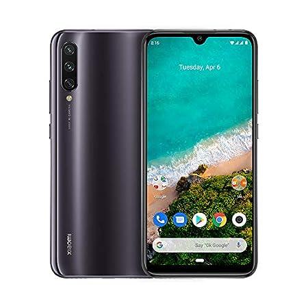 """Xiaomi Mi A3 – Android One, AMOLED de 6,088"""" (Cámara frontal de 32 MP, trasera de 48 + 8 + 2 MP,4030 mAh, Jack de 3,5 mm, Qualcomm Snapdragon 665 2,0 GHz, 4 + 64 GB) Color Grisáceo [Versión española]"""