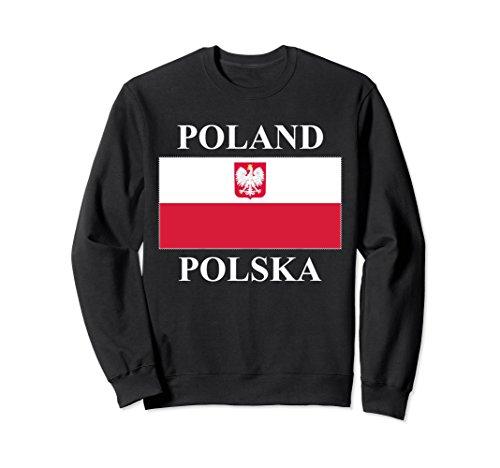Unisex Poland Flag Sweatshirt XL: ()