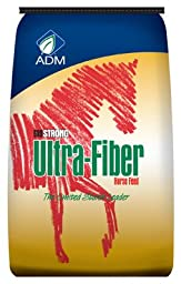 ADM Alliance Nutrition 558AB 50 lbs. Ultra Fiber Low Starch Horse Feed Pellets