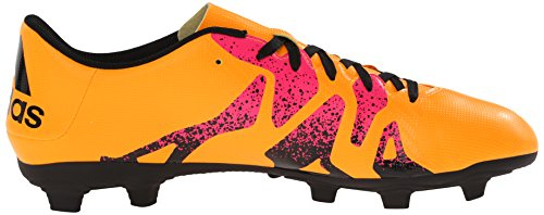 Adidas Performance X 15.4 fútbol zapatos, negro / shock Mint / blanco, 6,5 M con nosotros Gold/Black/Shock Pink