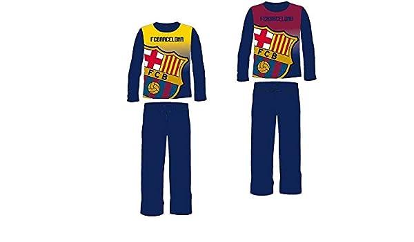 Pijama FC Barcelona micropolar infantil surtido: Amazon.es: Ropa y accesorios