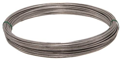 Hillman 122065 Galvanized Solid Wire 14 Gauge 100 Ft Coil