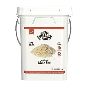 Amazon.com: Augason Farms Long Grain White Rice Emergency